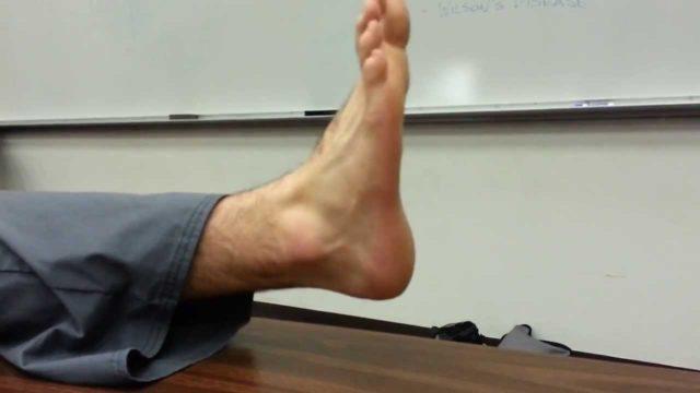 Клонус стопы.
