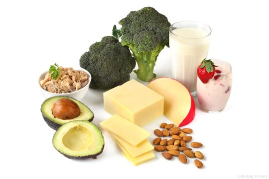 Рацион должен состоять из овощных и фруктовых блюд