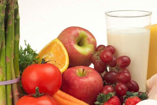Овощные, рыбные и молочные блюда должны обязательно входить в рацион