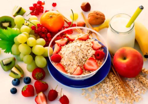 Рацион должен состоять из овощей, фруктов и свежих ягод
