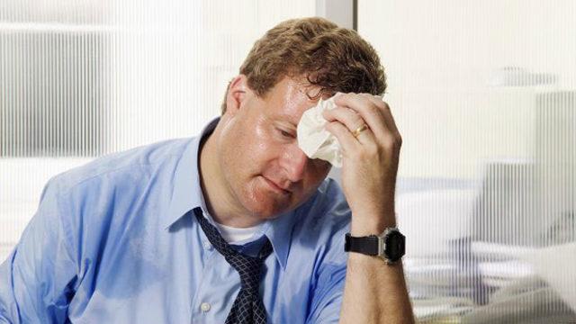 Повышенная потливость у мужчин при стрессе