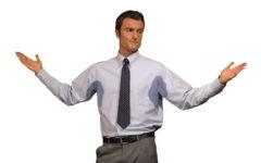 Повышенная потливость у мужчин: причины и лечение