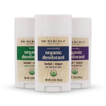 Органические дезодоранты