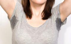 Повышенная потливость подмышек у женщин