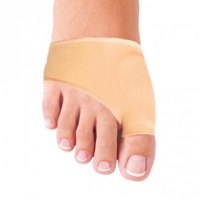 Гелево-тканевый бурсопротектор от ксточки на ноге.
