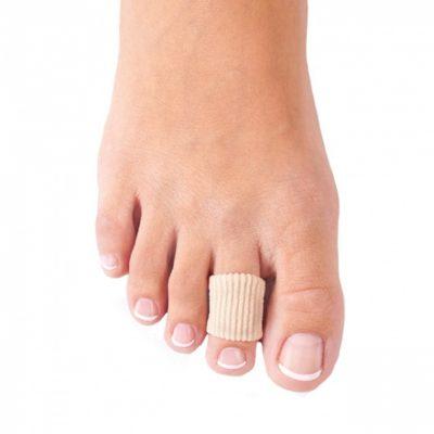Защитные кольца для пальцев стопы при вальгусной деформации.